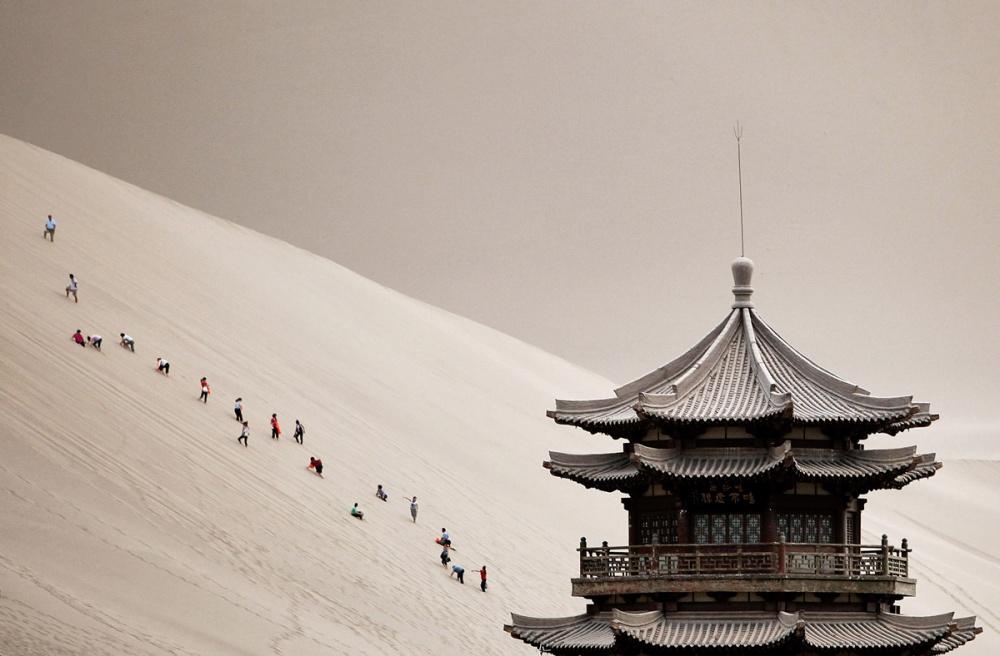 Gansu province Ķīnā/Tarringa