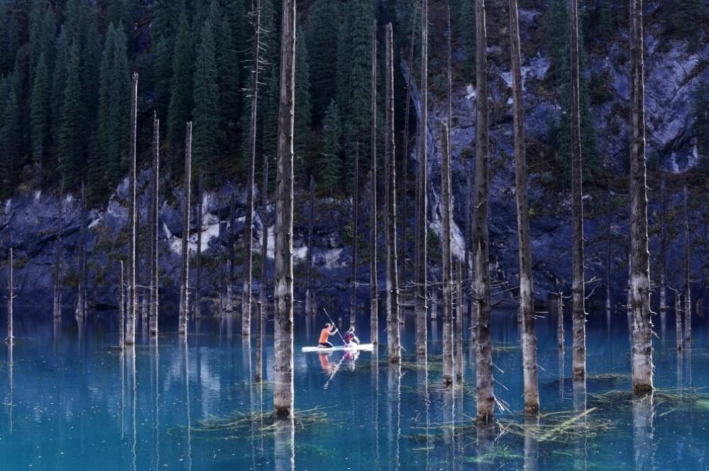Kaindy ezers Kazahstāna/© Dina Julayeva
