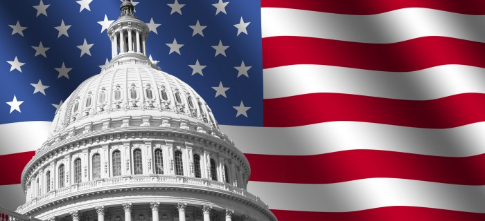 bigstock-Us-Capitol-Building-With-Flag-3482049